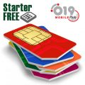 Israeli Prepaid SIM card starter plan by 019 Mobile