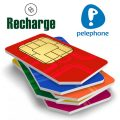 recharge pelephone sim card