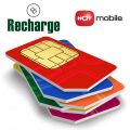 recharge hot mobile israeli prepaid sim card