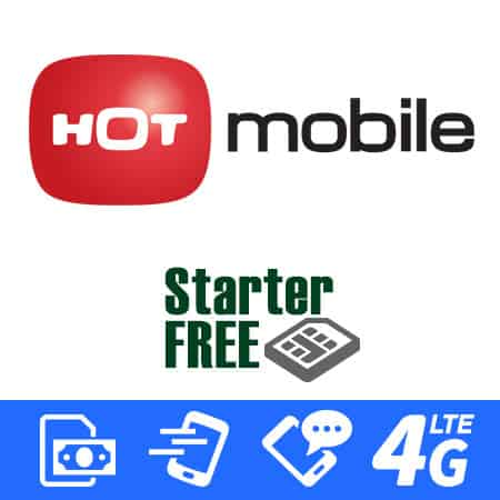 Israeli prepaid SIM Card Hot Mobile