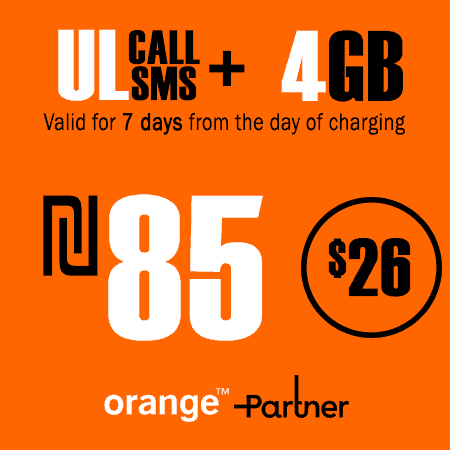 Partner Unlimited Calls and SMS + 4GB Data for 7 Days