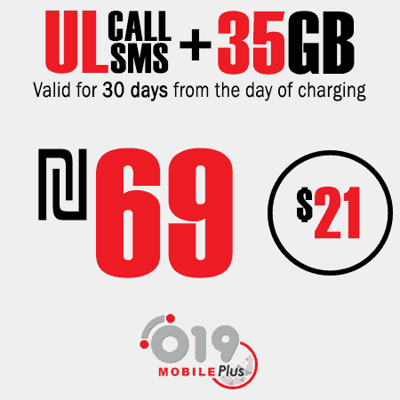 019 Mobile Unlimited calls and SMS + 35GB for 30 Days