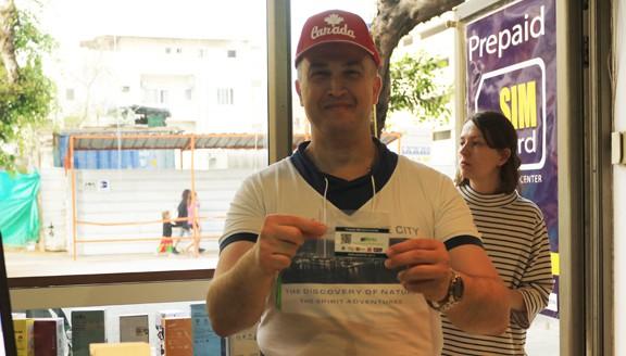sim card israel - happy customer
